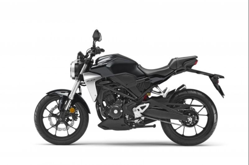 Honda CB300R Đen Bạc