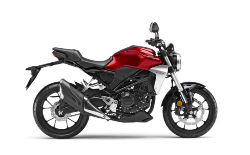Honda CB300R Đỏ Bạc