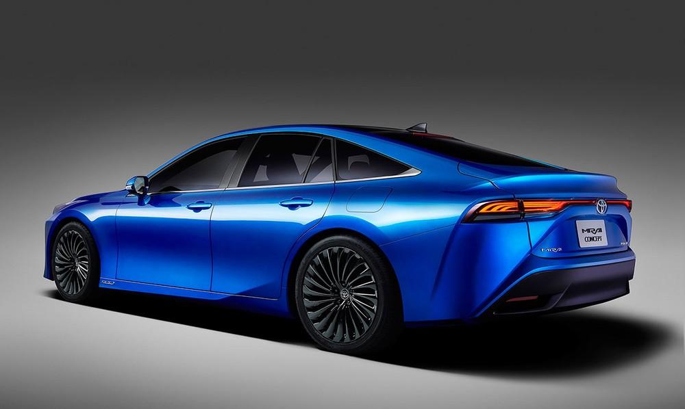 Toyota Mirai thế hệ mới sở hữu nâng cấp về ngoại thiết kế lẫn công nghệ