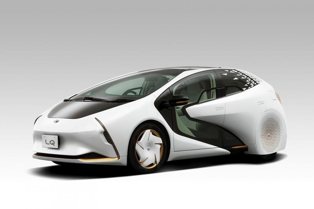 Toyota LQ 2019 mang dáng vẻ tương tự Concept-i 2017
