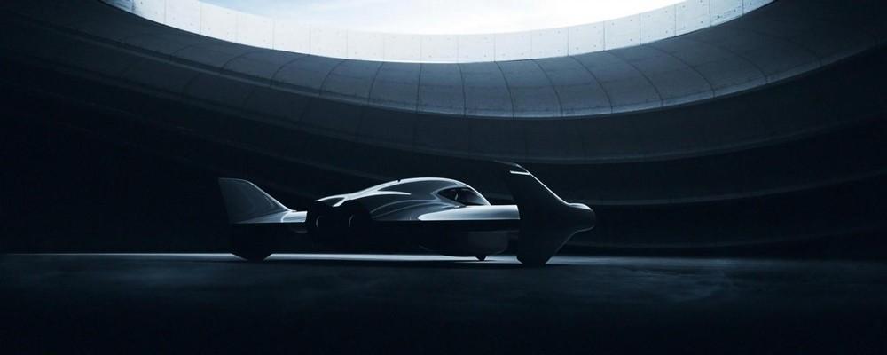Hình ảnh render xe bay của Porsche và Boeing