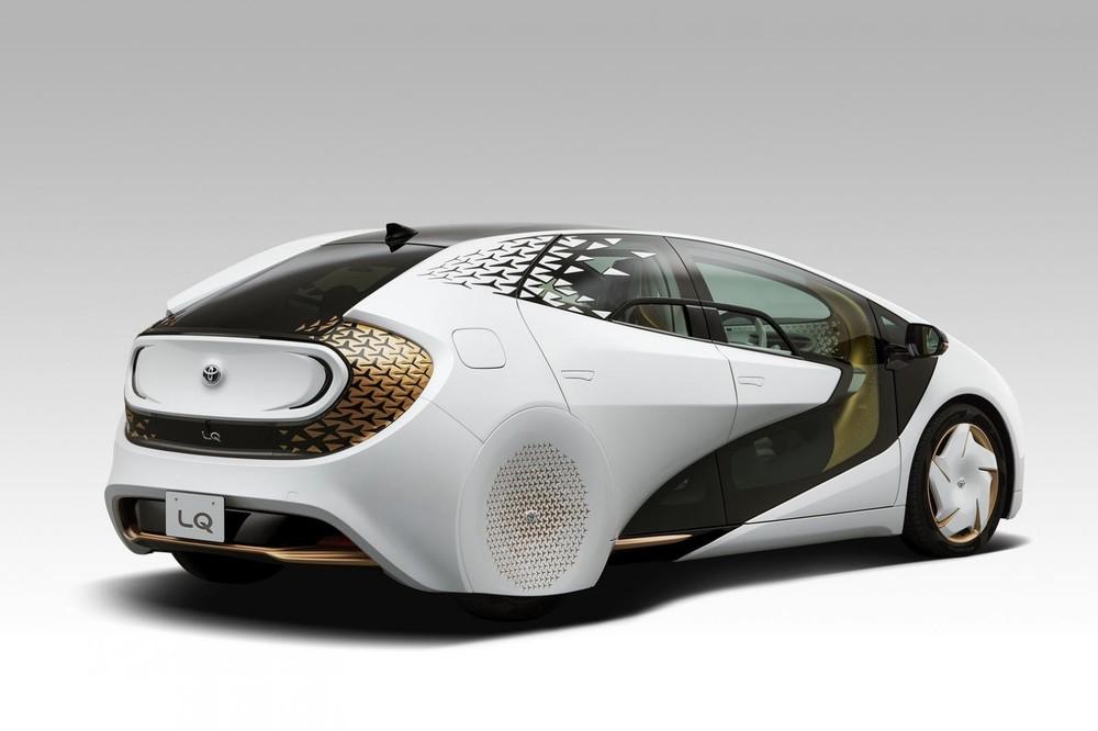 Toyota LQ mang một dáng vẻ đậm chất tương lai viễn tưởng