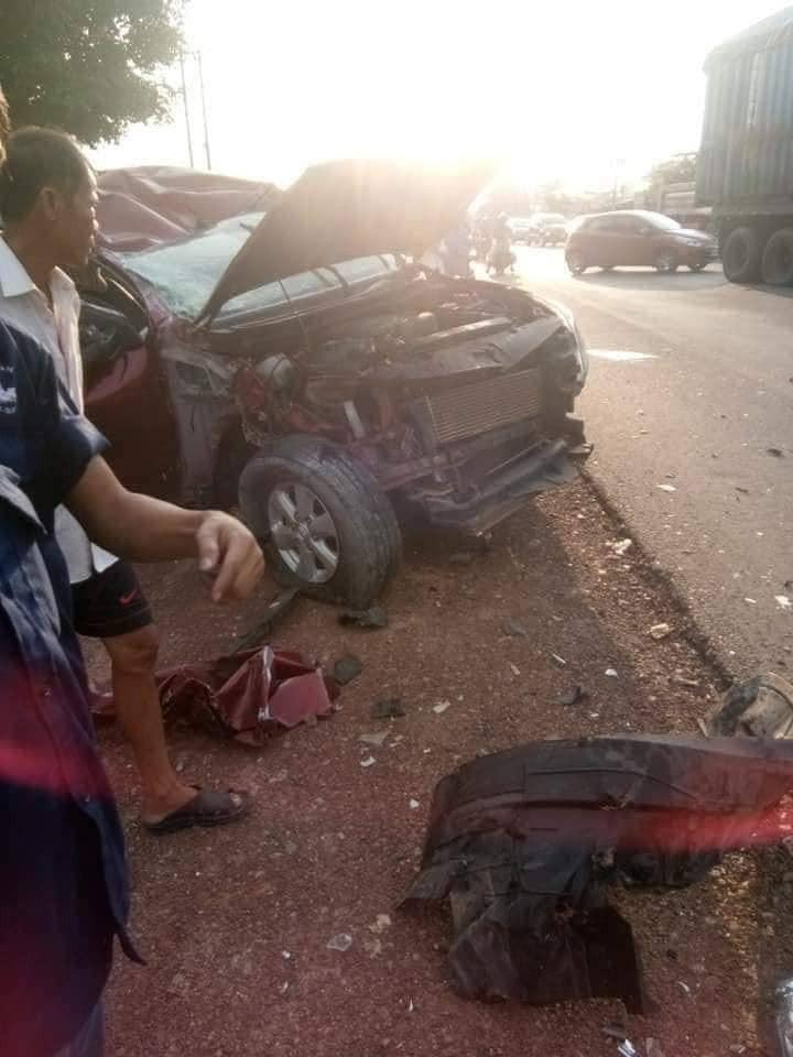 Vụ tai nạn khiến 3 người bị thương nặng