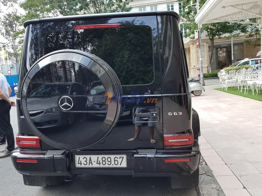 SUV hạng sang Mercedes-AMG G63 Edition 1 này được trưởng đoàn Car Passion cho ra biển số của Đà Nẵng
