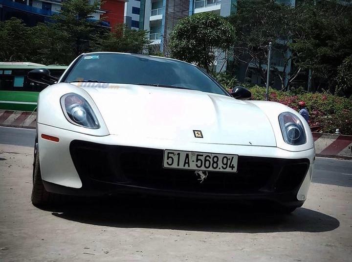 Siêu xe Ferrari 599 GTB Fiorano của Trung Nguyên