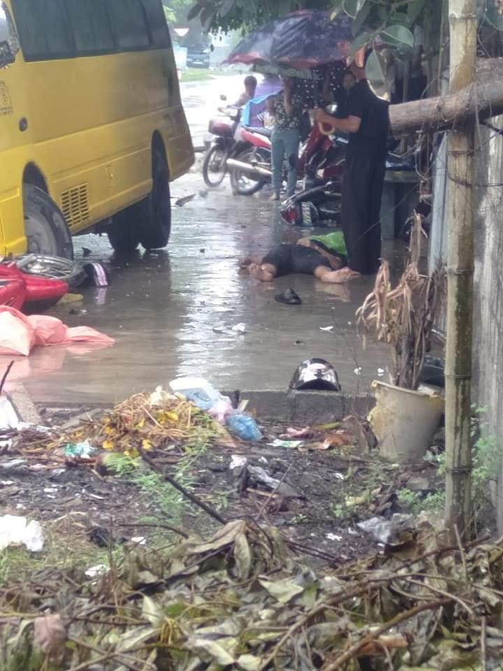 Hiện trường vụ tai nạn xảy ra tại Quỳ Châu, Nghệ An ngày 15/10 (Ảnh: Facebook)