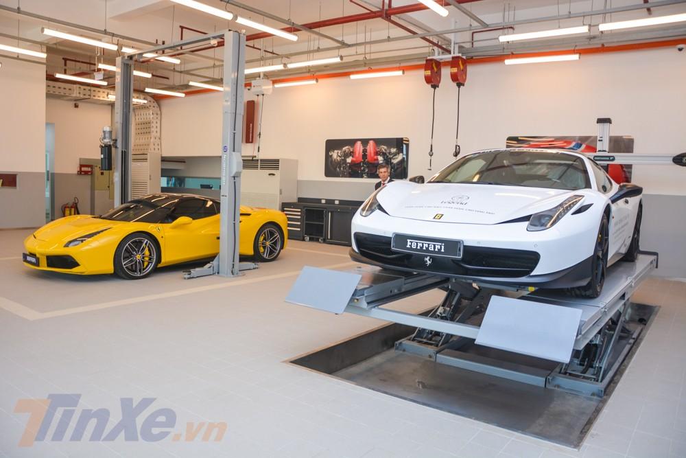 Showroom Ferrari đầu tiên tại Việt Nam sẽ chỉ kinh doanh qua các dòng siêu xe Ferrari chính hãng, có thể là xe của đại gia Việt hoặc các thị trường khác đưa về nước