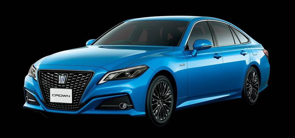 Toyota Crown Sport Style 2020 màu xanh dương