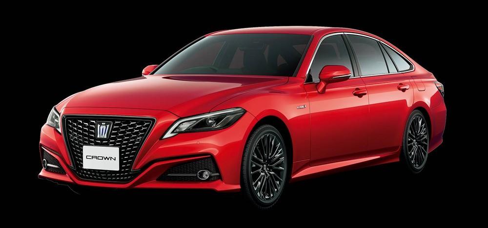 Toyota Crown Sport Style 2020 màu đỏ