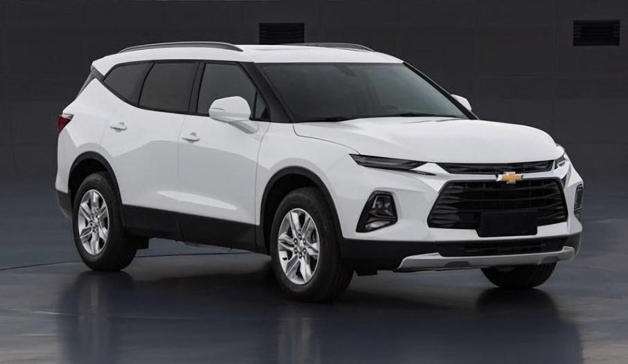 Chevrolet Blazer XL dành cho thị trường Trung Quốc