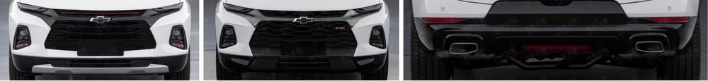 Lưới tản nhiệt của Chevrolet Blazer XL