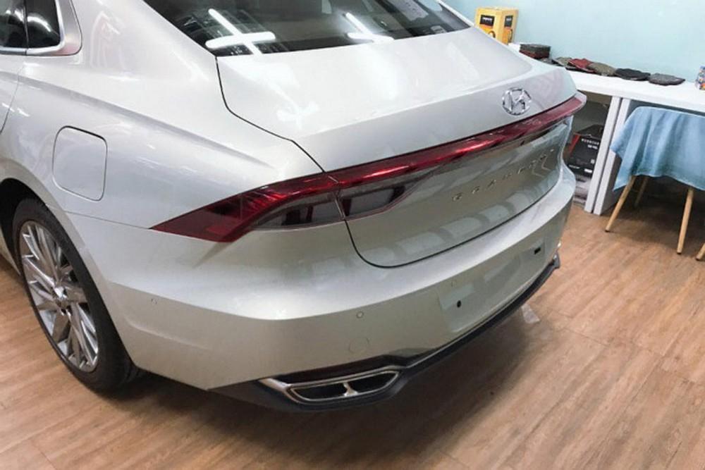 Thiết kế đuôi xe của Hyundai Grandeur 2020
