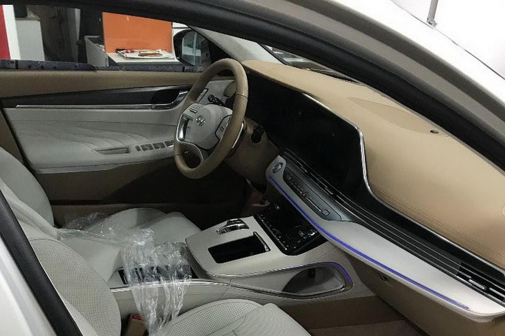 Nội thất bên trong Hyundai Grandeur 2020