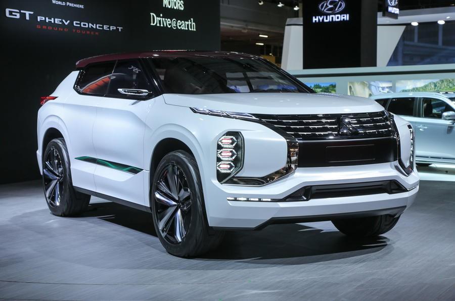 Mitsubishi Ground Tourer sở hữu thiết kế ấn tượng