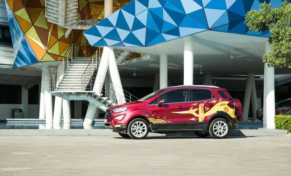 Thất thế trước Hyundai Kona nhưng Ford EcoSport vẫn duy trì được sức bán ổn định trong phân khúc SUV cỡ B