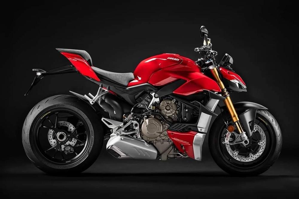 Thiết kế mang nhiều nét đậm chất thừa hưởng từ Ducati Panigale V4