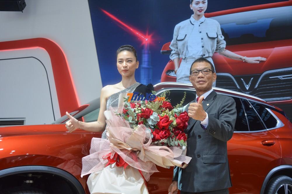 Ngô Thanh Vân cũng hy vọng Vinfast sẽ chơi lớn trong các dự án phim hành động sắp tới của mình