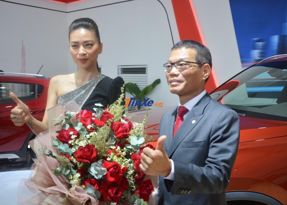 Ngô Thanh Vân hiện đang là đại sứ thương hiệu của Vinfast