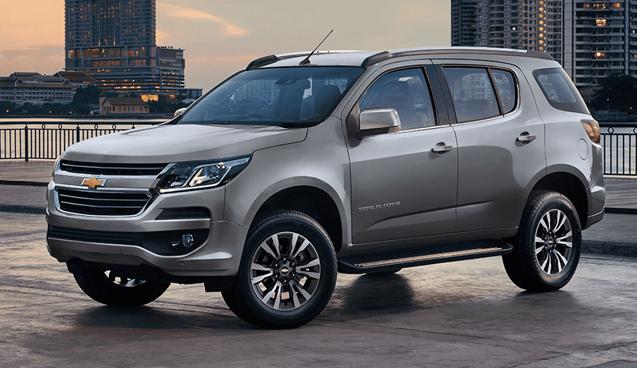 Dáng vẻ của Chevrolet Trailblazer 2019