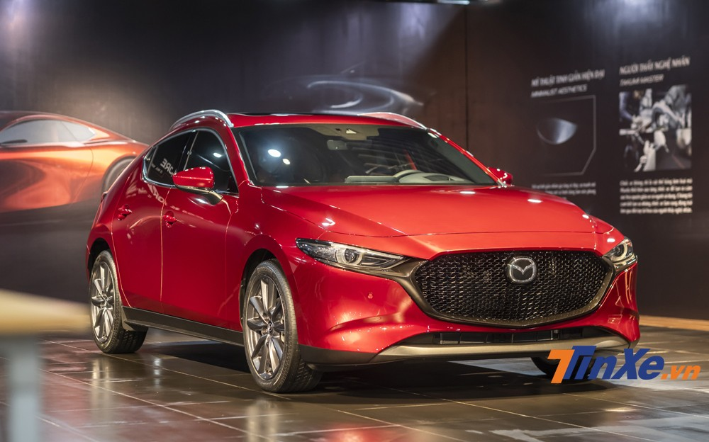 2020 Mazda3 will return to Vietnam with two formats: Sedan and Sport (also known as hatchback).