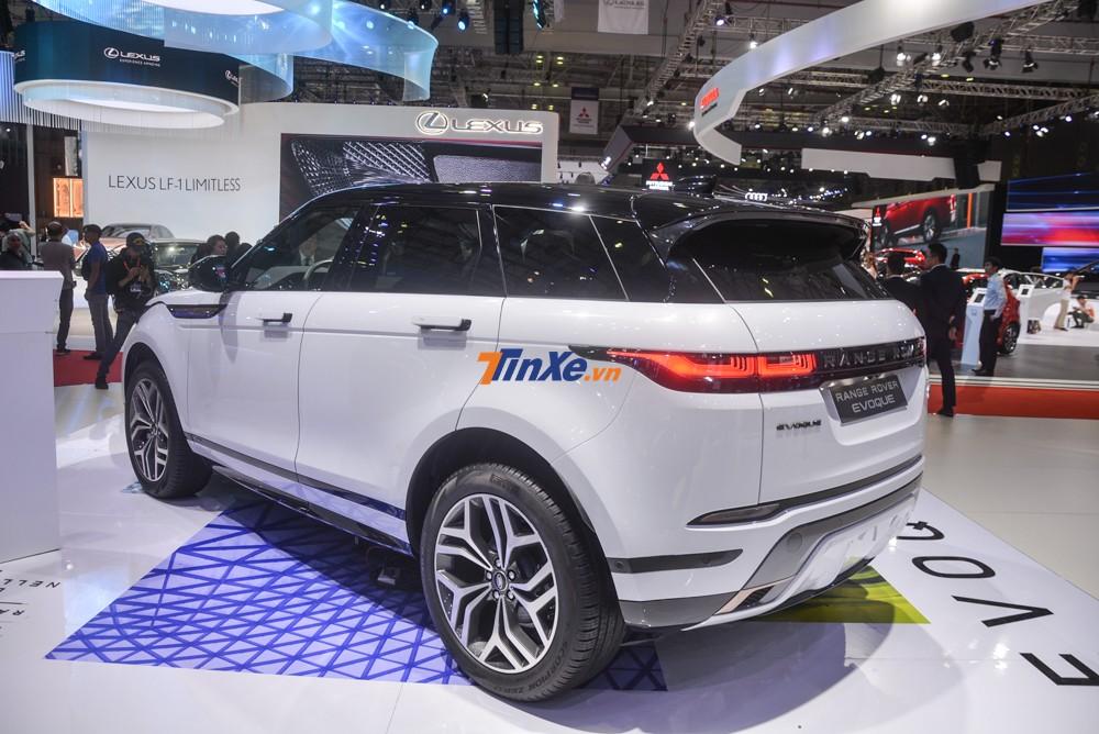 Range Rover Evoque 2020 có la-zăng từ 20 đến 21 inch cho các khách hàng lựa chọn