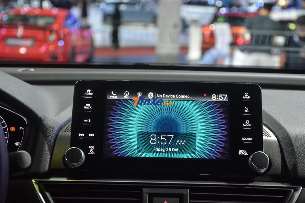 Màn hình giải trí của Honda Accord 2019 đáng giá hơn với hỗ trợ kết nối Apple CarPlay và Android Auto