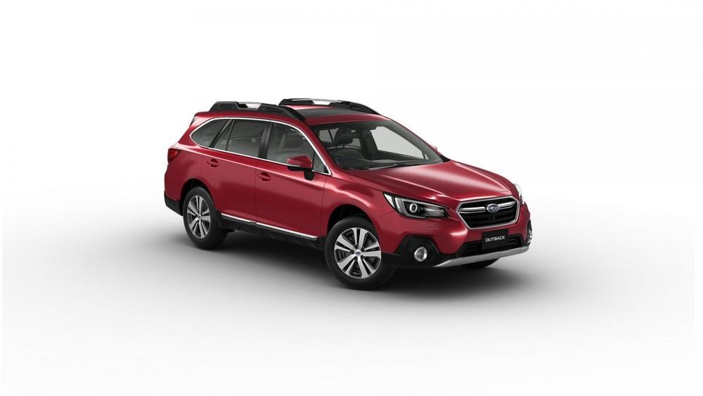 Subaru Outback 2019 màu đỏ
