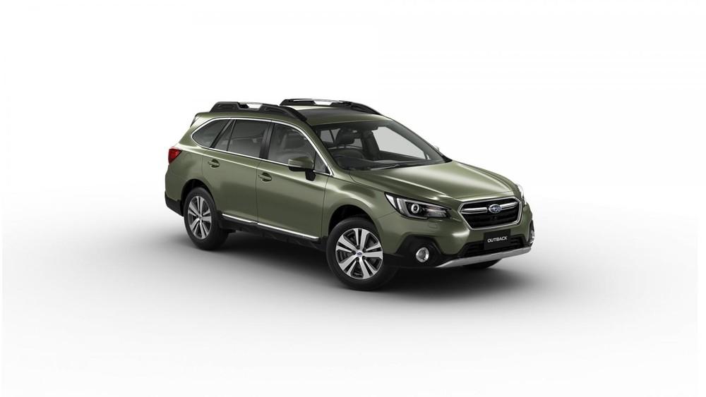 Subaru Outback 2019 màu lục