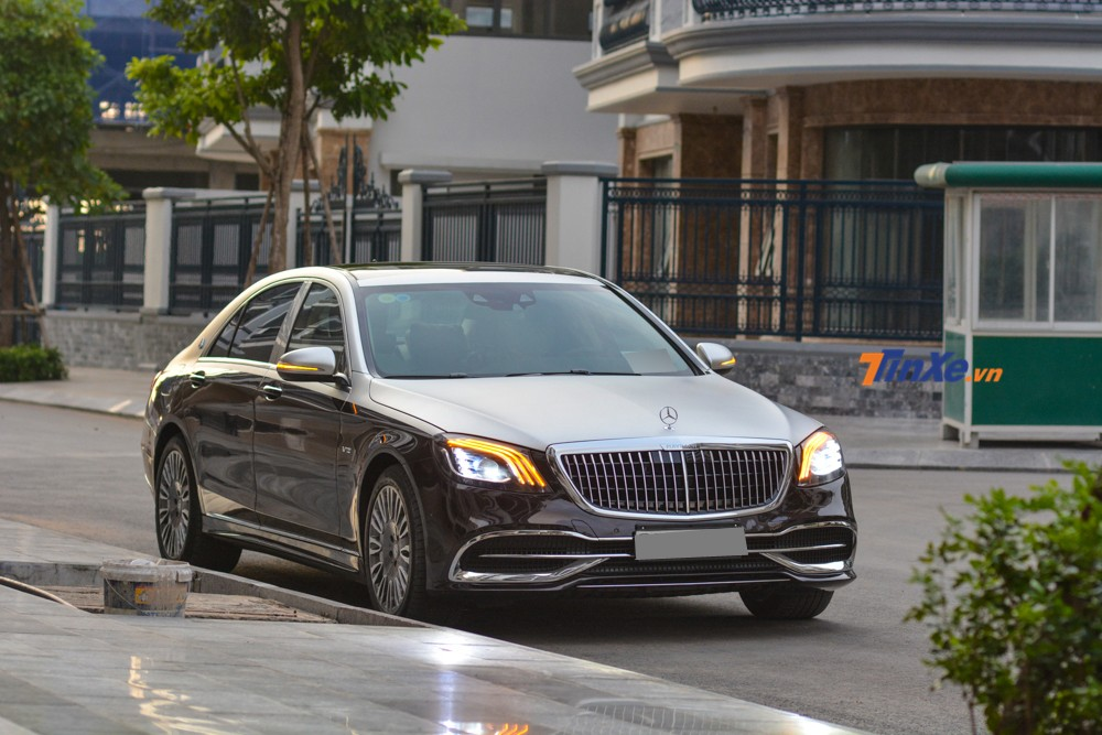 Completely new appearance of the 2013 Mercedes-Benz S500 after being spent nearly half a billion to the owner of the Mercedes-Maybach 2019 body kit