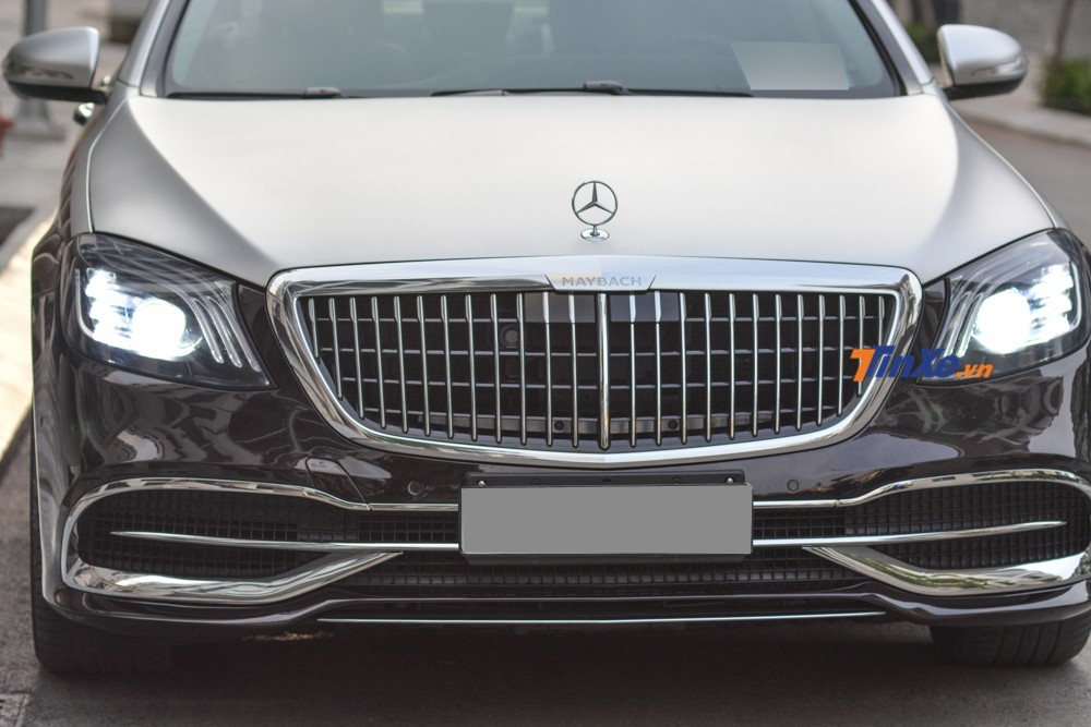 The completely new facade of the Mercedes-Benz S500 super body kit for Mercedes-Maybach 2019