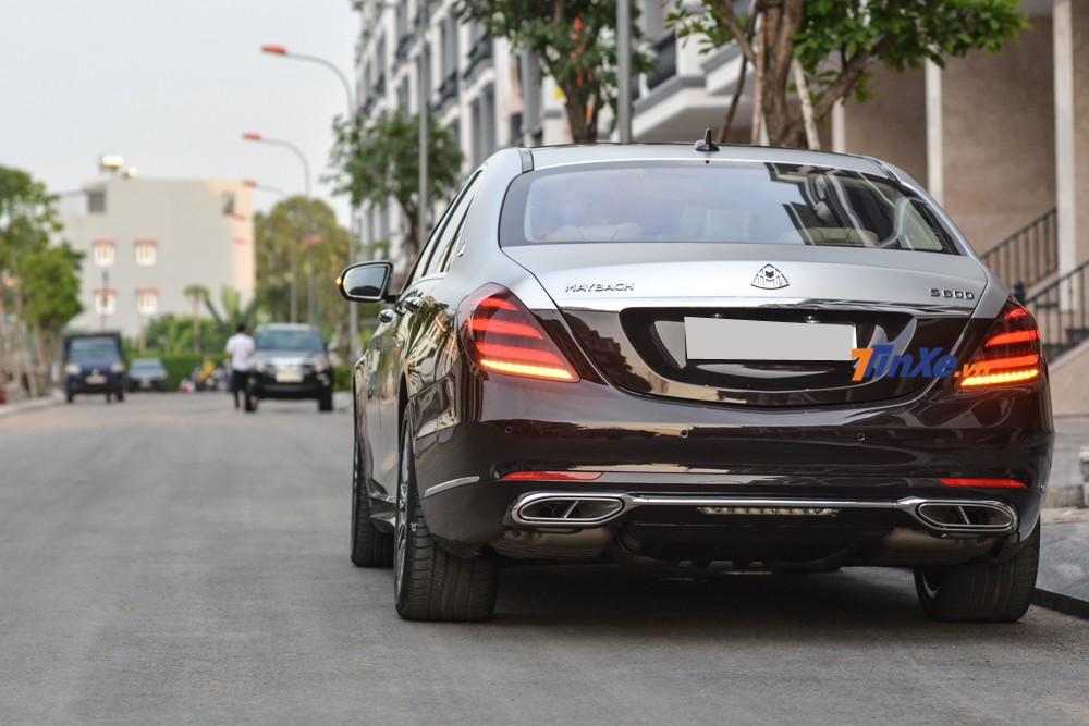 At first glance it would be difficult to know this is a 2013 Mercedes-Benz S500