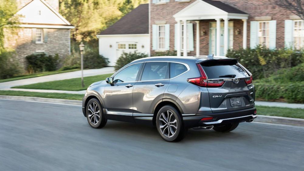 Thiết kế đuôi xe của Honda CR-V 2020