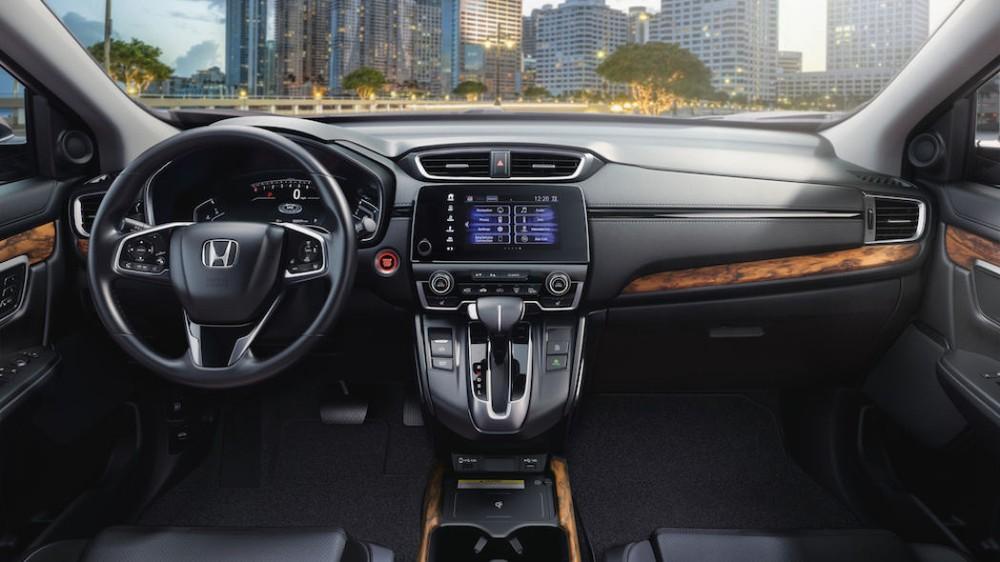 Nội thất bên trong Honda CR-V 2020 bản cao cấp nhất