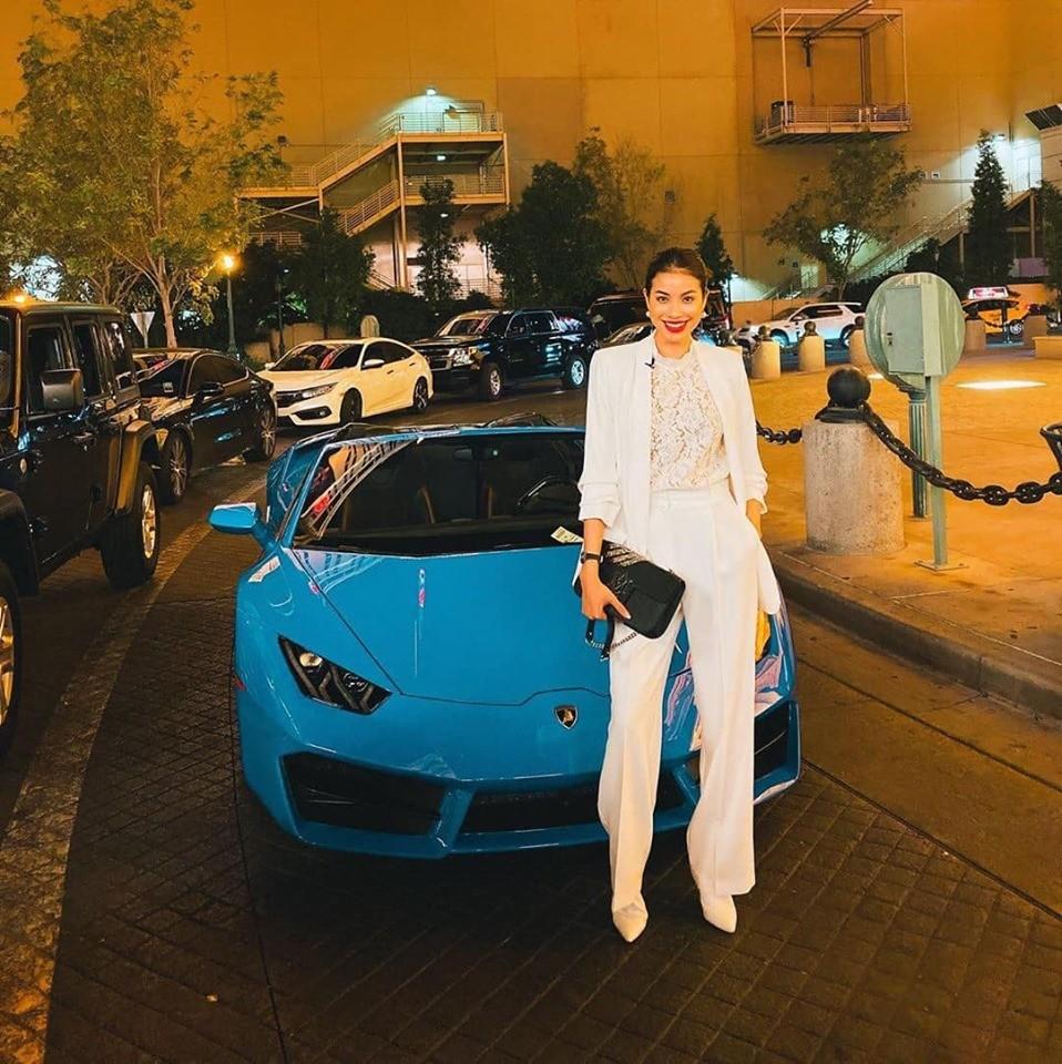 Chiếc siêu xe Lamborghini mui trần này thuộc phiên bản Huracan LP580-2 Spyder