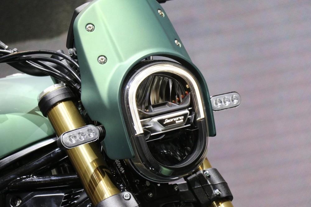Benelli Leoncino 800 phiên bản Trail sẽ được trang bị ốp đầu đèn khác biệt