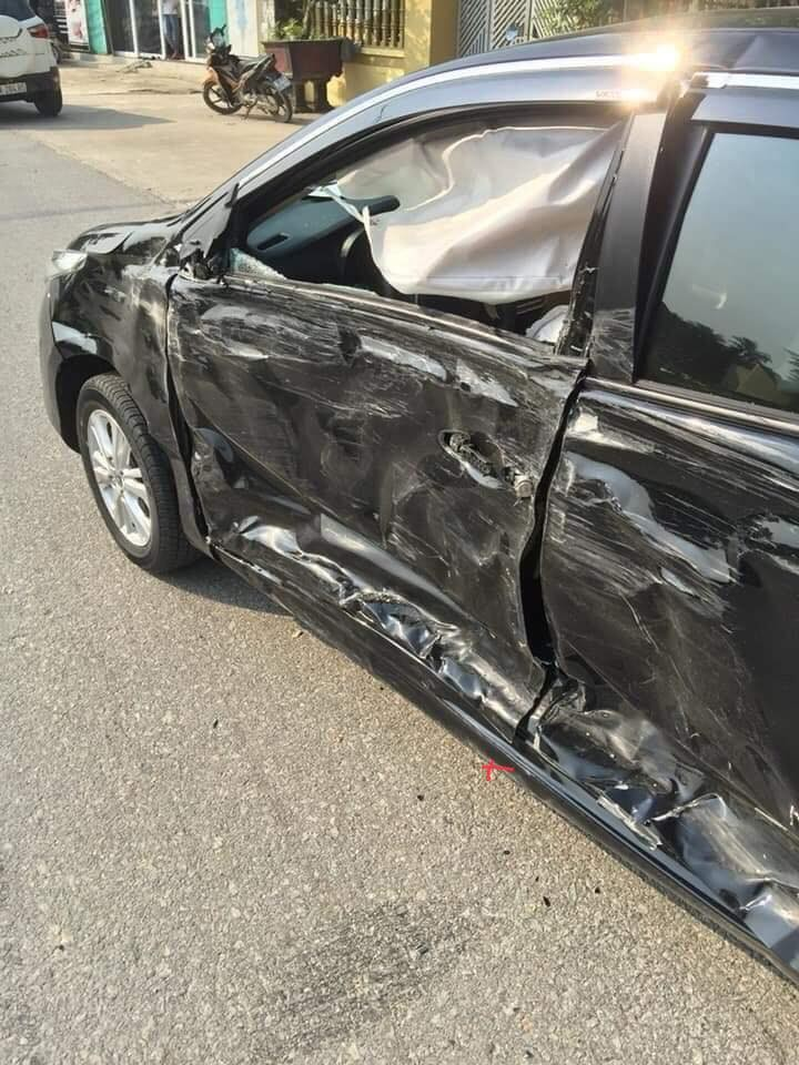 Thiệt hại của xe Toyota Vios
