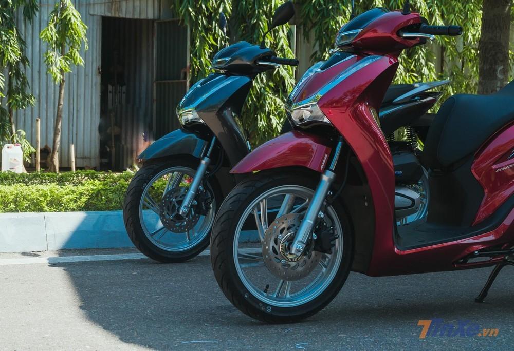 Honda SH 2020 vẫn chia thành hai bản động cơ 125 và 150 cc với phanh CBS hoặc ABS