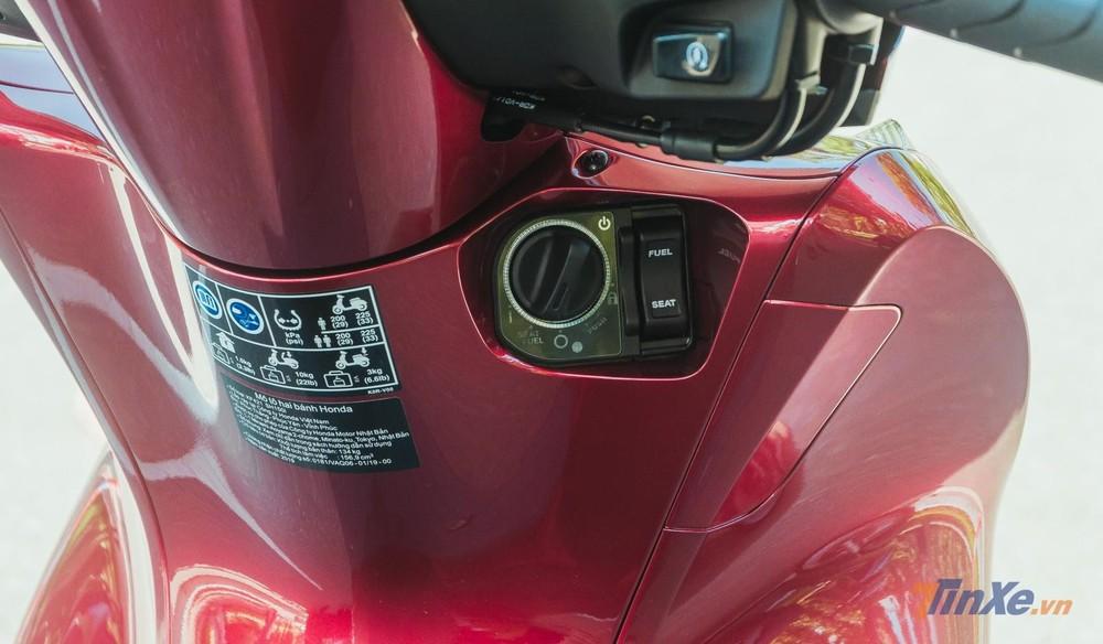 Khóa Smart Key trên Honda SH 2020