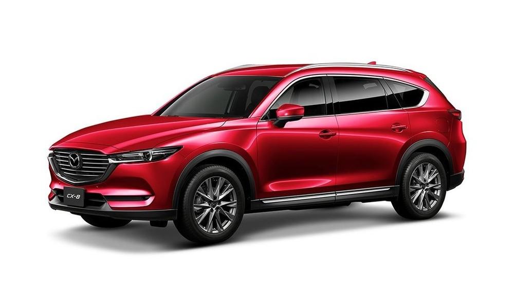 Mazda CX-8 màu đỏ