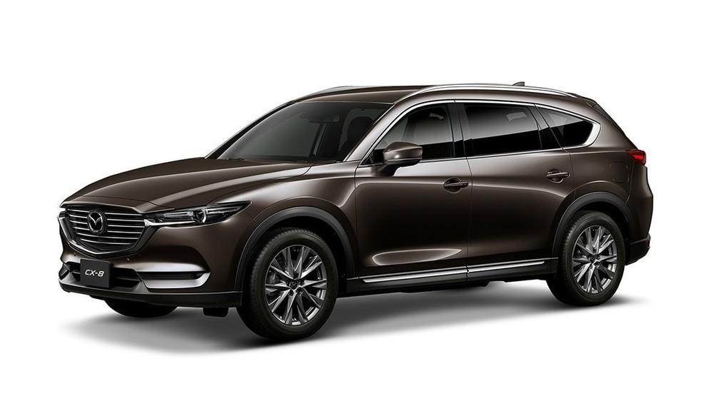 Mazda CX-8 màu nâu