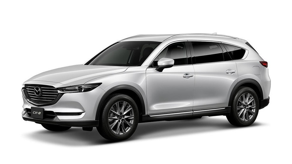 Mazda CX-8 màu trắng