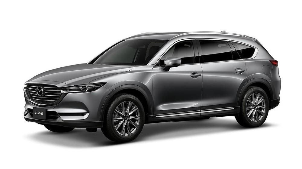 Mazda CX-8 màu bạc