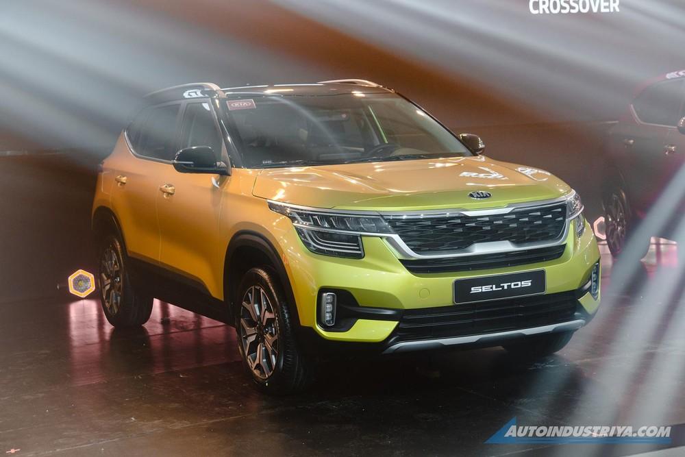Kia Seltos 2020 sở hữu thiết kế trẻ trung