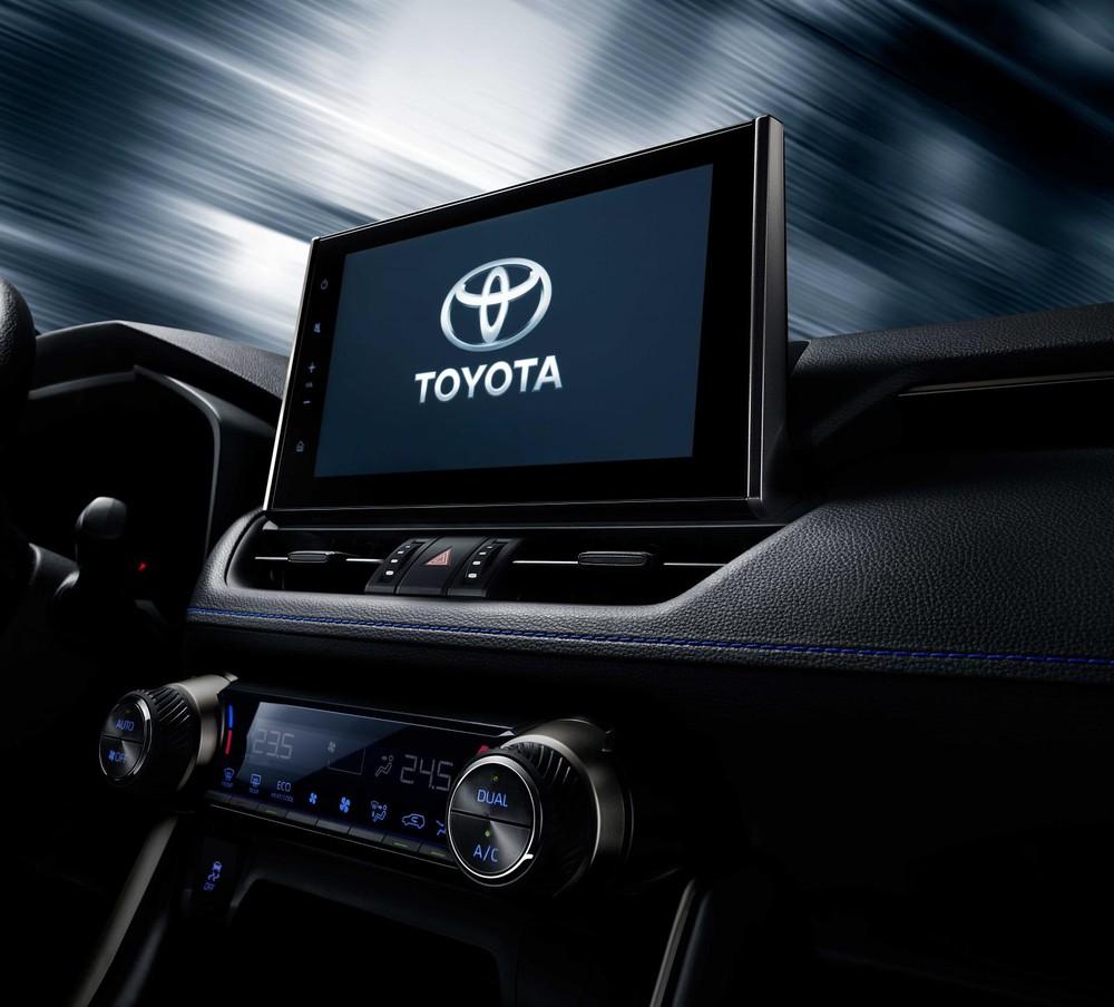 Hình ảnh nội thất đầu tiên của Toyota Wildlander 2020