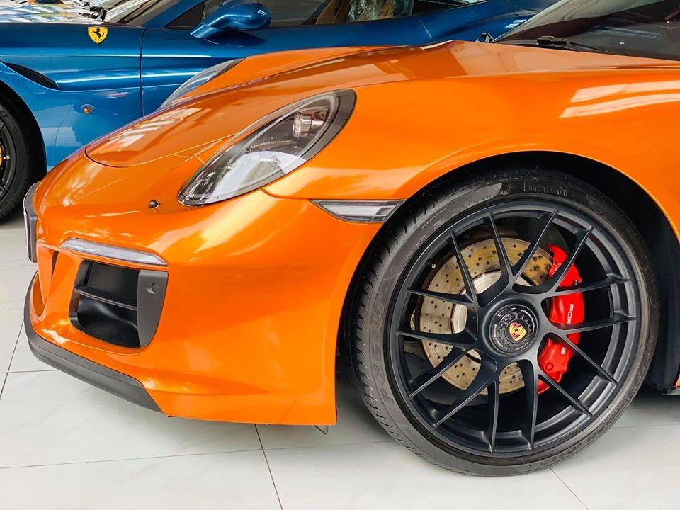 Bộ mâm của Porsche 911 Turbo S