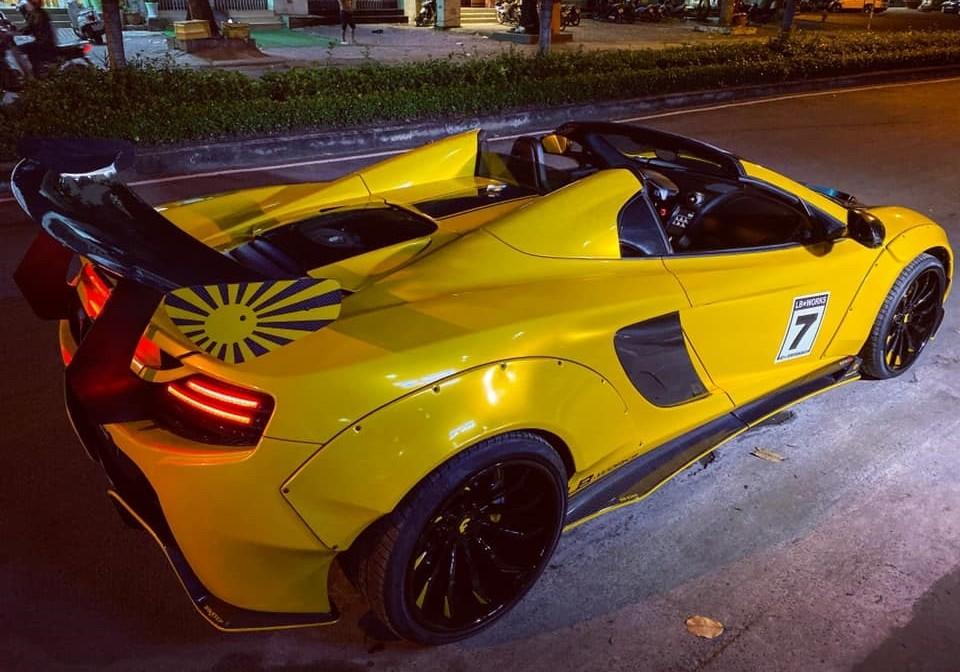 McLaren 650S Spider độ Liberty Walk thứ 2 tại Việt Nam