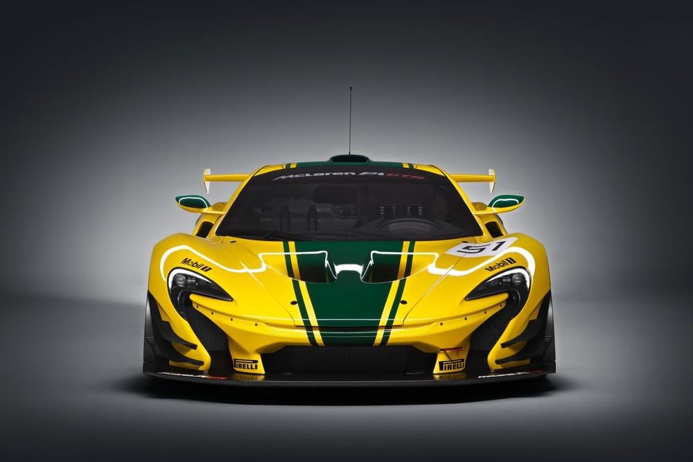 Siêu xe đường đua McLaren P1 GTR