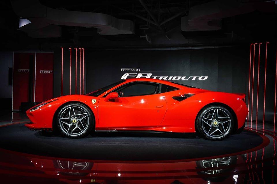Ferrari F8 Tributo ra mắt Thái Lan