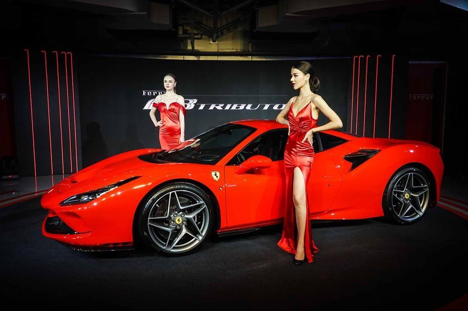 Thời gian giao hàng Ferrari F8 Tributo chính hãng tại Thái Lan dự kiến là đầu năm sau