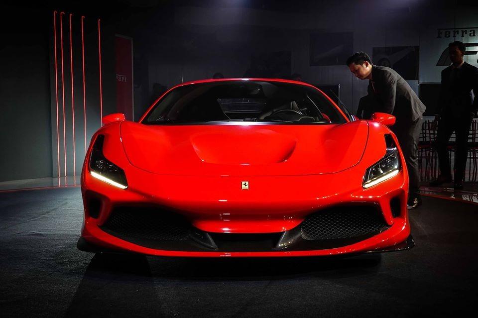 Sau Việt Nam, đại gia Thái giờ mới được giới thiệu Ferrari F8 Tributo chính hãng